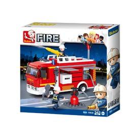 SLUBAN Stavebnice hasičské auto 343 ks