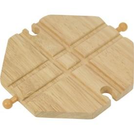 Bigjigs - Křižení dřevěné vláčkodráhy
