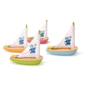 Dřevěné hračky Vilac - Dřevěná plachetnice menší 1ks