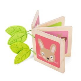 Le Toy Van Petilou - Dřevěná knížka se zvířátky