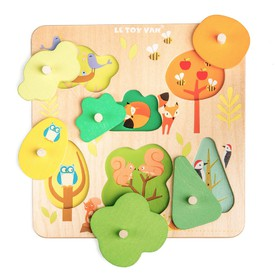 Le Toy Van Petilou - Vkládací puzzle kouzelný les
