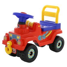 POLESIE Odrážedlo Jeep 4 x 4 červené
