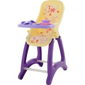 POLESIE Vysoká židlička pro panenky béžová