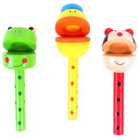 Bigjigs Toys kaskaněty na tyčce zvířátka 1ks