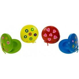 BigJigs Toys Dřevěné kaskaněty 1ks