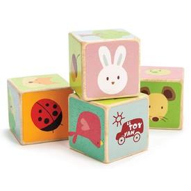 Le Toy Van Petilou - Obrázkové kostky