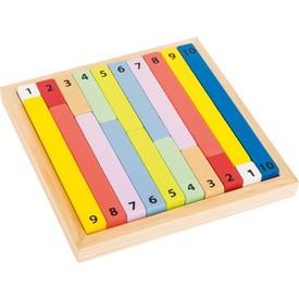 Edukativní barevná tabulka - kalkulačka