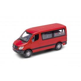 Welly - Mercedes-Benz Sprinter Panel Van model 1:34 červený