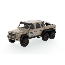 Welly - Mercedes-Benz G63 AMG 6x6 model 1:34 metalická