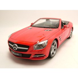 Welly - Mercedes-Benz SL500 (2012) model 1:24 červený