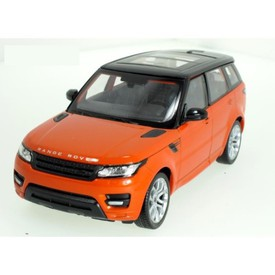Welly - Rover Range Rover Sport  model 1:24 oranžový