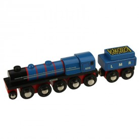 Originální dřevěná lokomotiva - LMR Gordon