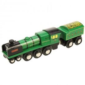 Originální dřevěná lokomotiva - RH DR Typhoon
