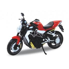 Welly - Motocykl MV Agusta Brutale 99R model 1:18 červená