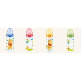 NUK First Choice Plus Medvídek Pú láhev 300 ml oranžová
