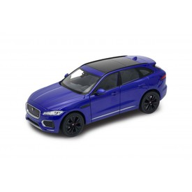 Welly - Jaguar F-Pace model 1:24 modrý