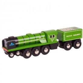 Originální dřevěná lokomotiva - Tornado
