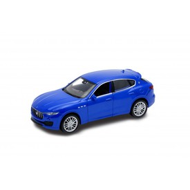 Welly - Maserati Levante model 1:34 modrá