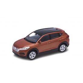 Welly - Hyundai Tucson model 1:34 hnědá