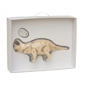 Robotická hračka dinosaurus TRICERATOPS - Sestavený
