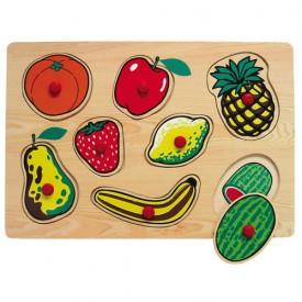 Dřevěné hračky - Vkládací puzzle - Vkládačka - Ovoce 2