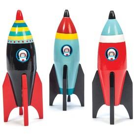 Le Toy Van barevná raketa 1ks