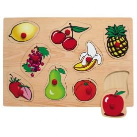 Dřevěné hračky - Vkládací puzzle - Vkládačka - Ovoce 1