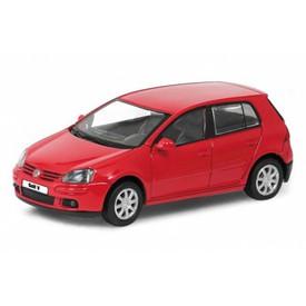 Welly - Volkswagen Golf V 1:34 červený