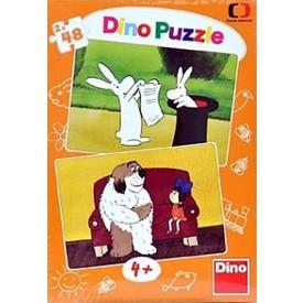 DINO Puzzle Večerníčky 2 x 48 dílků