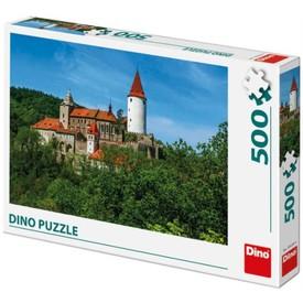 DINO Puzzle Křivoklát 500 dílků