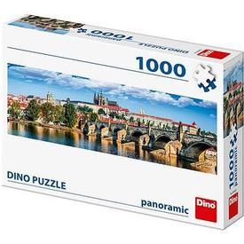DINO Puzzle PANORAMIC Hradčany 1000 dílků