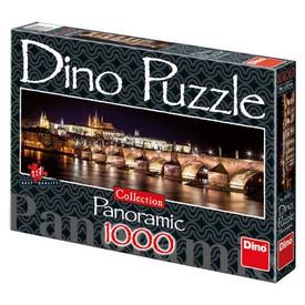 DINO Puzzle PANORAMIC Hradčany v noci 1000 dílků