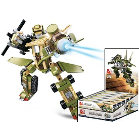 Sluban Builder M38-B0636 King of Land Force 1ks