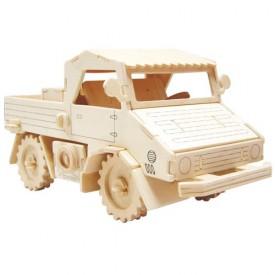 Dřevěné 3D puzzle skládačka auta - Nákladní automobil GP154