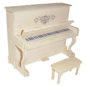 Dřevěné skládačky 3D puzzle - ostatní - Piáno klavír GPM005