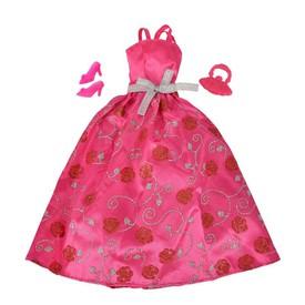 SIMBA Šaty Steffi Romantic World tmavě růžové