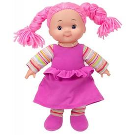 SIMBA Panenka Cheeky látková 38 cm růžové šaty