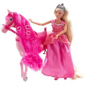SIMBA Panenka Steffi na koni