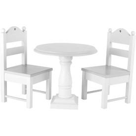 Legler Dřevěný set nábytku pro panenky bílý