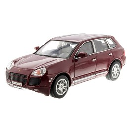 WELLY Porsche Cayenne Turbo červené 1:24