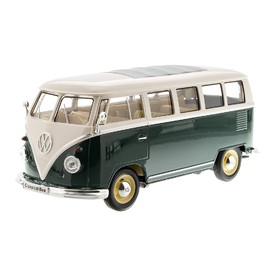 WELLY Volkswagen Classical Bus zelený 1:24
