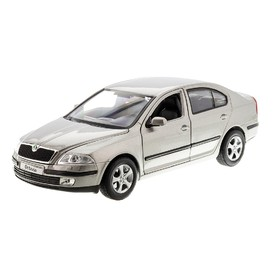 WELLY Škoda Octavia II stříbrná 1:24