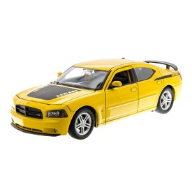 WELLY Dodge 2006 Charger Daytona R/T žluté 1:24