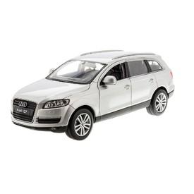 WELLY Audi Q7 stříbrné 1:24