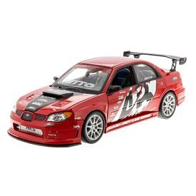 WELLY APR Subaru Impreza Performance červené 1:24