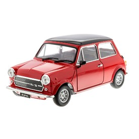 WELLY Mini Cooper 1300 červený 1:24