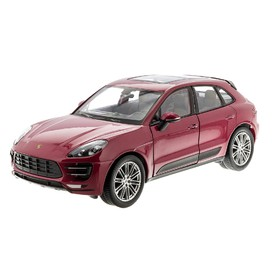 WELLY Porsche Macan turbo červené 1:24