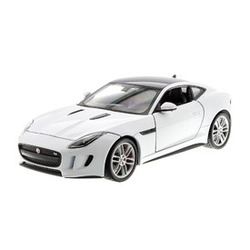 WELLY Jaguar F-Type Coupe bílý 1:24