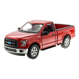 WELLY Ford F-150 Regular 2015 červený 1:24