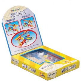 Dřevěné hračky - Dřevěná stavebnice - Letadlo